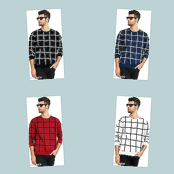 Check bio and dm me for shopping Catalog Name :*Elite Elegant Cotton Men's Checkered T-Shirts *  Fabric: Cotton   Sleeves: Full Sleeves Are Included    Size: M , L, XL (Refer Size Chart)  Length: Refer Size Chart  Type: Stitched  Description: It Has 1 Piece of Men's T-Shirt  Pattern: Checkered   Dispatch: 2 - 3 Days  Design: 5  Easy Returns Available In Case Of Any Issue #fashion #swag #style #stylish #me #swagger #cute #photooftheday #jacket #hair #pants #shirt #instagood #handsome #cool #polo #swagg #guy #boy #boys #man #model #tshirt #shoes #sneakers #styles #jeans #fresh #dope