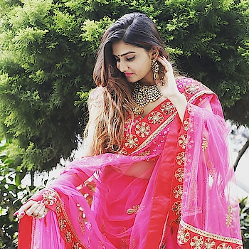 Because we don't need cure on our pink addiction!!!! @thegulabigirl looks oh so pretty in our just in Pink & Red Handcrafted Lehenga.  Get gulabi 💕 Rent this & many more only at www.rentanattire.com Visit us at our stores in Pune, Delhi and Dehradun  #bridal #bridalwear #lehenga #bridaljewellery #bridetobe2019 #indianwedding #indianfashion #royal #fashion #weddingfashion #weddingbells #raa #weddingshow #weddingwear #rental #fashiononrent #whybuywhenyoucanrent #urbanbrides #pune #delhi #dehradun
