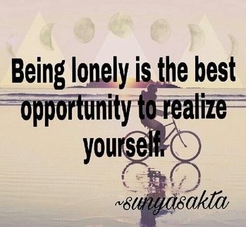 #in love wd loneliness :)