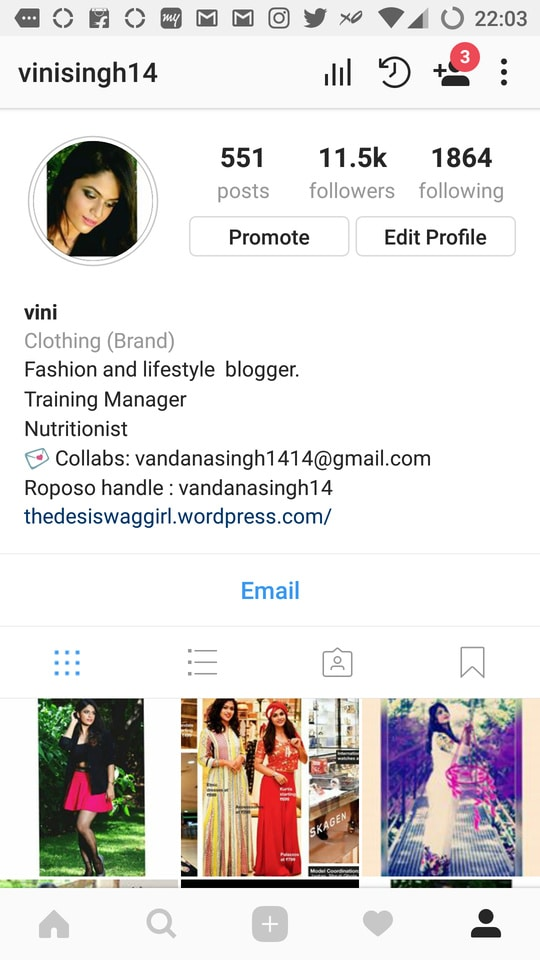 follow me on Instagram for more love and support  interesting fashion tips Will be up soon ..  instahandle : vinisingh14