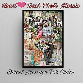 Order Done😊 Heart Special❣️ 👍3D Style PHOTO MOSAIC💞 👉without frame A4 size And Big A3 Size Available 👉soft copy by Mail Available👍 Create Your Memories ❤️Let your memories Shine✨ ✨ ❤️50-70 pics need And 150 pics extra charge @photo_art_store @gifts_shopping_time  @gift_online_store  @gift_personalized_magazine Special🎁🎁🎁🎁🎁😘 😍SPECIAL PERSON😍 Keep Ordering😍😍 Birthday Couple Friendship Family Anniversary 😍😍 😍 DM for Order  #surprises#specialgift#happybirthday#birthdaygift #birthdaygifts#customisedgifts#uniquegifts #giftsforher#giftsforhim#giftsforcouple #anniversarygifts#anniversarygift #personalisedcards#greetingcards#handmadegift #handmadegifts#handmadecard #womanentrepreur#femaleentrepreneur#giftideas #photo_art_store #gifts_shopping_time #gift_online_store