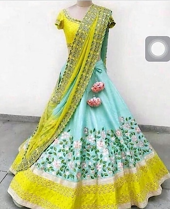 #langavoni #halfsaree #loveyellow #fashionquotientchannel #traditional #fashionquotient