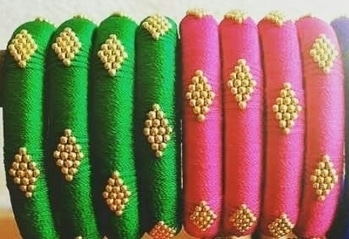 Offer  8 kada price 399+shipping Any colour combination  Grab it now only for 28 and 29 March 17 Whatsapp 9559900139 #weddinggiveaways#beadsjewerlery#silkthreadjewelleryt#hreadjewerllery#gotajewerllery#threadbangles#jumka#f#pompom#bulkorders #fashion#mehandigiveways#haldigiveways#gives#returngifts#uniquecreation18#mehandi#haldi#weddingplanner#pompomjewerllery#beadsjewerllery#flowerjewllery#handmadejewelry#handmadeindianjewerllery#wedding#weddingbangles#weddinggiveways