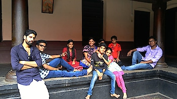 At famous film location... #trendystuff #be-in-trend #palace #film #location #viral #trendingonroposo #trendingpost #beats #followmeonroposo #happieness #happyvibes #indiapictures #stylishlook #group-photography #friendsforlife #roposo-love-friends #friendshipgoals #cousins #familytime #candidphotography #camera