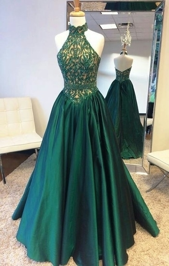 stiched designer dress with hand embroidered. colour green. fabric tapta. price 7500