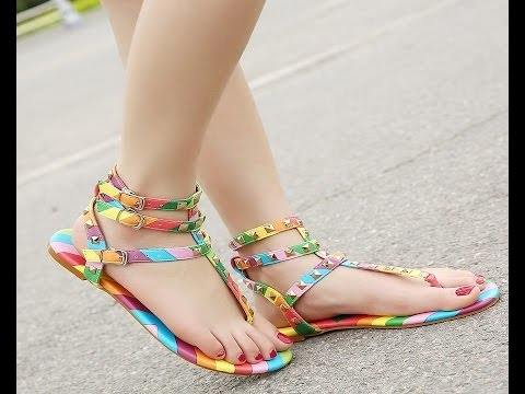 #flatsandal #bohemianstyle #beautiful_ #stylishshoes #sexy #cute #lovelyfootwears #fashionablecollection  #footwear