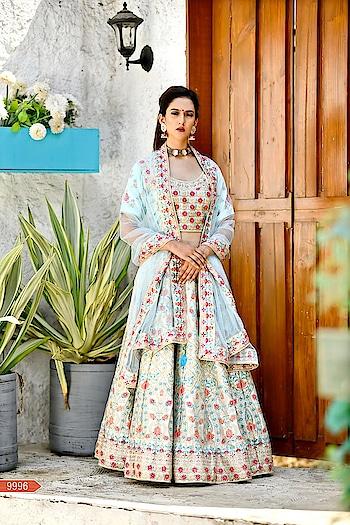 New #designer #lehenga #choli with #dupatta #lehengacholi #girl #hot #women #tiktok #roposo #satin #sale