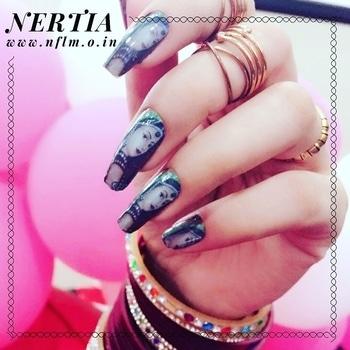 Garba Nail Art Design Collection 💫 #nails #garba #navratri2017 #navratrispacial #navratri #nails2inspire #nail-addict #nailartdesigns #nailartlove #nailartjunkie #nailsoftheday #nailoholic  #nailart
