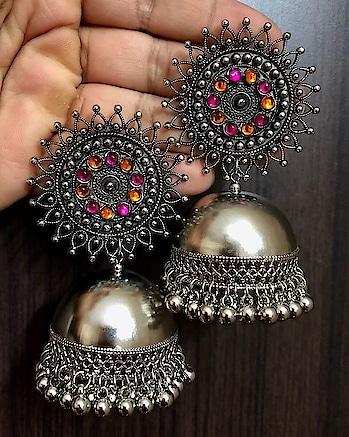#trendy-jhumkas #jhumkalove #jhumka_obsession #jhumkaearrings