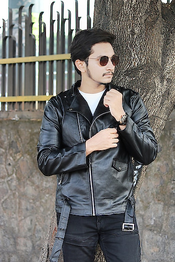 Men PU Biker Jacket from  @shein   SearchID:580681  Shop This SHEIN Jacket From Here: http://bit.ly/2OeHK37  . Use Code ''Suleman04'' To Get Rs 300 Off On Purchase Of Rs2600. . . . #malefashionbloggers  #indianfashionblogger  #mumbaiblogger  #indianblogger  #bloggersofindia  #indianluxuryblogger #plixxoblogger  #mensessentials   #galleri5influenstars  #sheinofficial  #malebloggers  #sheinmen  #indiantravelblogger  #indianinfluencer  #sheinfashion  #mumbaifashionblogger   #fashionindia  #bomberjackets   #indianphotography  #indianfashion  #menwithstyle  #winterfashion2018  #indianfashionphotographer #indianmen  #patchedjacket