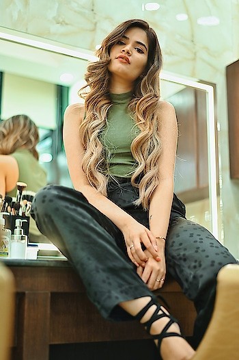 New haircolor #risingstar #haircolour #hair-story #fashionbloggerdelhi #fashionblogger