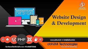 """""""There are three responses to a piece of design – YES, NO, and WOW! Wow is the one to aim for.""""  Showcase your business on web now. We are here to give you attractive offer for website design.  Visit us for more details Email: info@abhumi.in Call now: +91-8698755048  #abhumi #website #designing #technologies #technology #followforfollow #instalike #likeforlike #website #solution #bestservice #bestsolutions #outdoor #offer #attractive #development #customers #follow #like #abhumitechnologies"""