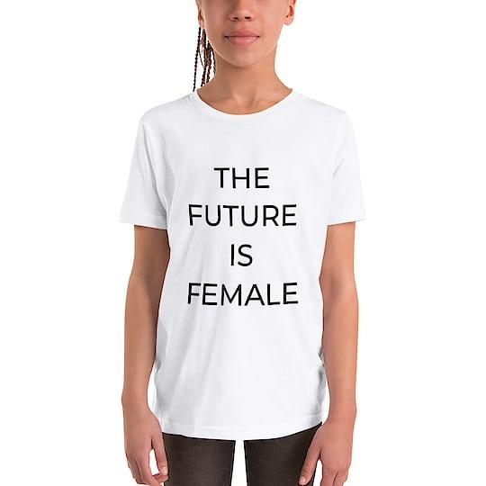 The Future is Female Kids T-shirt - Link is in the bio - Visit us on Instagram @nikhilbharoliya for more art and fashion Inspiration . #fashion  #roposo-style  #my-art  #tshirt  #unisex  #shirts  #womensfashion  #mensfashion  #menswear  #thefutureisfemale  #feminist  #letter  #clothes  #ootd  #ootdfashion  #styleoftheday  #minimal  #minimalism  #minimalist  #artiste  #artistsoninstagram  #surat  #surat_igers #nb  #nikhil  #nikhilbharoliya  #art8amby #igstyle  #highfashion  #feminism