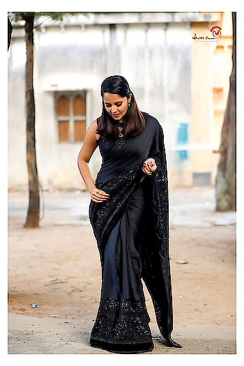 black saree sexual