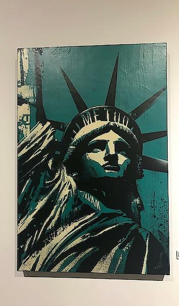 #cool #pieceofart #statueofliberty #newyork #wallart #beauty #historicalart #so-ro-po-so #ropo-good #roposostyle #ropo-post #roposo-fashiondiaries #h_styletour #hstylosophyofficial