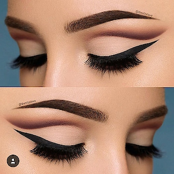 wanna matte eye makeup.... this is just perfect 😉😉 #roposo-style #roposo-makeupandfashiondiaries #eye-makeup #eyemakeuplover #matteeyeshadow #mattelook