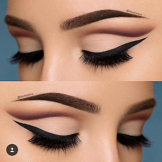 wanna matte eye makeup.... this is just perfect 😉😉 #roposo-style #roposo-makeupandfashiondiaries #eye-makeup #eyemakeuplover #matteeyeshadow #mattelook