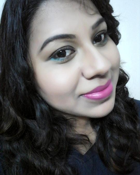 #makeup #makeuplook #makeuplove #makeuplove #roposoblogger #makeupblogger #eyemakeup #pinklips #smokeyeyss #blogger #bloggergirl #bloggerstyle #indianblogger