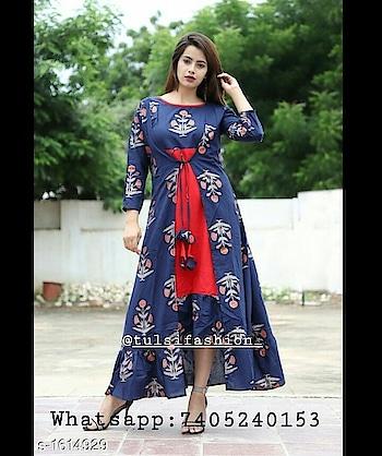 Buy Latest Dresses At Affordable price. Whatsapp : 7405240153. #jewellery #jewelry #jewels #jewellerytrends #jewellerytrends #jewellerylove #fashion #fashionblogger #dress #dresses #dressmaterial