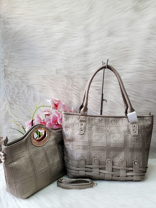 *👜👝CHARLES & KEITH* 2 piece combo set 😍 IMPORTED  Embossed branding❗ *❣Price 1050 +$ only❣*