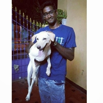 """Sweet pic with #tikku """"We can judge the heart of a man by his treatment of animals"""".... #motivationmonday #mondaymotivation #mancrushmonday #mcm #quotes #vigedrquotes #veterinarianquotes #veterinaryquotes #VigeDr #veterinarian #chocolatebrownhandsome"""
