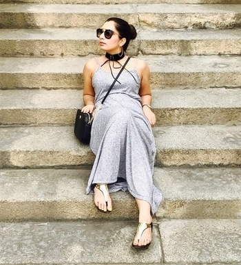 Maxi dresses- My go to outfit for lazy summer days....🤘 . . #ootd #aboutalook #wiwt #maxidress #comfy #casualstyle #summerfashion #casualchic #streetstyle #trendalert #outfitinspiration #outfitlove #staychic #summerstyle #sundaze #roposo #soroposo #soroposogirl #fashioninfluencer #fashionblogger