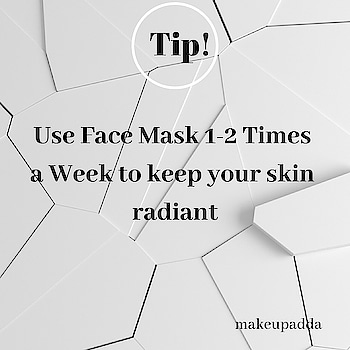 Tip of the Day . . Using a Face Mask 1-2 Times a Week after Cleansing and before Moisturizing will remove deeply embedded impurities from your pores, leaving you less oily and heal acne over time. . . Your skin will look more radiant too. . . . . . . . . . . . . #facemask #facemasks #oilyskin #pores #radiantskin #skincare #skincareblogger #facecare #beautifulskin #beautyblogger #beautyblog #tips #beautytips #beautytipoftheday #tipoftheday #indianbeautyblogger   #diyoftheday #diy #tipsforskin  #beautyinfluencers #contentcreator #contentwriter   #bangalorebeautyinfluencer #makeupadda #naturalbeauty #indianbeautyblog  #bangalorebeautyblogger #bangaloreblogger #bangalorebeautyblog