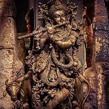 #lordkrishna #krishna #hindugods #antics #ancient #fortkochi #kochi #kerala #sculpture #beautiful  #godsowncountry #harekrishna