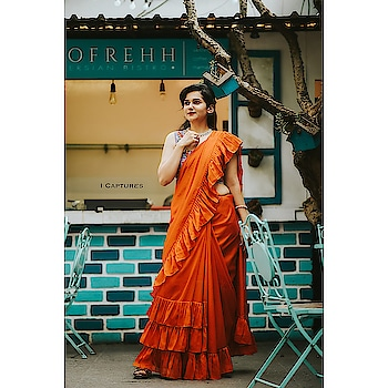 That lovely Ruffle Saree and so much more to shop from at @sutraa_exhibitions happening at @tajkrishnahyd on 17th -18th May I.e. next Friday-Saturday.  Keep your dates blocked! Clicked by @i_captures_photography #hyderabadfashionblogger #hyderabadfashion #hyderabadblogger #hyderabadshopping #hyderabadclothing #hyderabadretail #hyderabadexhibitions #rufflesaree #ruffle #rufflesareehyderabad #potd #ootd #roposo-beauty