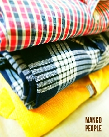 #checkedshirt #checkmatecollection #fabric  #cotton #winterstyle #warmthandsunshine #color-pop #availableinstock #mangopeopleapparels