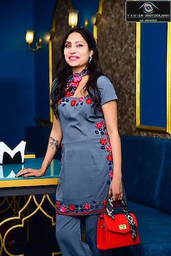 #embroidery #sudhajain #latesttrends #fashionblogger #fashionista