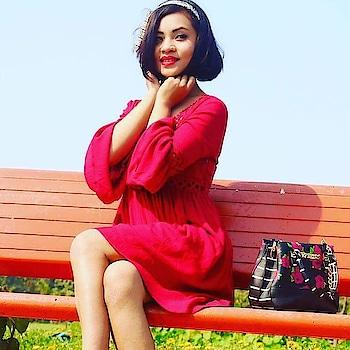 Welcome spring ❤. #roposo  #fbloggler#roposo-style #ropo-love #woman-fashion#befashiondiva #roposo-fashion #fashionables