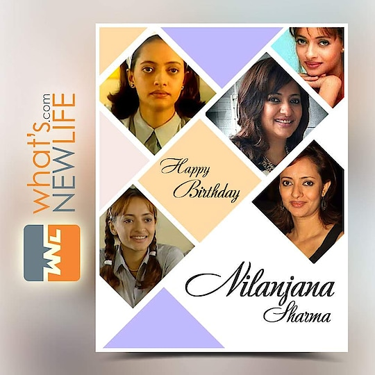 What's New Life wishes the Indian actress Nilanjana Sharma on her Birthday Anniversary.  #NilanjanaSharma #BirthdayAnniversary #wishes