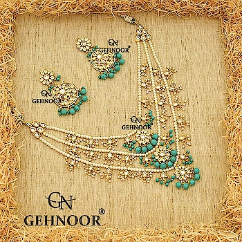 Want something Unique & Quirky you have definitely come to the right place! 💕 . Our totally bestselling Ferozi Awesomeness, combined with the Royalty of 3 Lada and Quintessential Chandbalis to go with it.💚 . This Gorgeous piece has completely lifted our spirits here at Gehnoor!💙 . www.gehnoor.com 💻 . FREE SHIPPING anywhere in India 🚙 . Cash On Delivery Available across India 💲 . WhatsApp at 07290853733 📱 . www.facebook.com/Gehnoor/ . gehnoor@gmail.com 📝 . #bride #goldjewellery #kundannecklace #traditionaljewellery #indianbride #photooftheday #instabride #bridalwear #bridaljewellery #like #likeforlike #followfollow #followus #followback #gehnoor #earrings #kundan #pastel #pastelshades #usa #canada #ferozi #feroza #teenlada #panchlada #satlada #chandbali