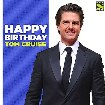 He's been Cruise-ing through the world on his epic blockbusters and we feel lucky to have witnessed them all!  the legendary superstar Tom Cruise, a very Happy Birthday! <3 #HappyBirthdayTomCruise