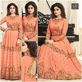Buy Now @ https://goo.gl/X8pqNS  Shamita Shetty Peach Georgette Designer Anarkali Suit  Fabric- Georgette  Product No 👉 VJV-ASHI10004  @ www.vjvfashions.com  #dress #dresses #bollywoodfashion #celebrity #fashions #fashion #indianwedding #wedding #salwarsuit #salwarkameez #indian #ethnics #clothes #clothing #india #bride #beautiful #shopping #onlineshop #trends #cultures #bollywood #anarkali #anarkalisuit #beauty #shopaholic #instagood #pretty #vjvfashions