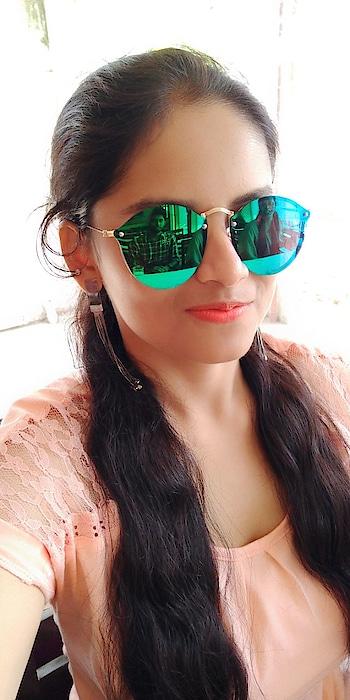 Birthday Special selfie #shades #blue-green