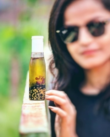 #BLOGGED! ❤️ Hey guys, one of the most requested posts is up on the blog now!  #DIYHairgrowthoil   Head to the link in my bio for details or tap here - https://pujachopra.wordpress.com/2017/08/31/diy-hair-growth-oil/    Go, go! 😁    #howto #hair #haircare #hairfallcontrol #hairoil #PujaChopra #TheStyleParadox #indianblogger #outfit #cute #me #fashion #ootd#style #fashionblogger #plixxoblogger #popxofeatures #styleinspiration #raipurblogger #outfit #diy #instalovers #instagramers #instadaily #instagood #instablogger #instastyle