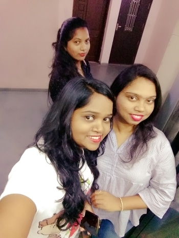 sister is the best friend one can get as a incredible gift .... #loveusomuch #happy😍😍😚😚