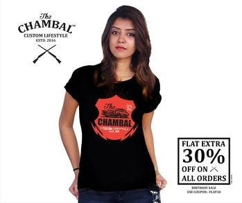 'The Chambal' T-shirts Limited Stock Shop Now: http://bit.ly/2tALlPE #thechambal #startup #makeinindia #desi #extra #discount #swadeshi #brand #feel #style #new #online #shop #easy #adventure #stylish #looks #quality #chambal #best #follow #like