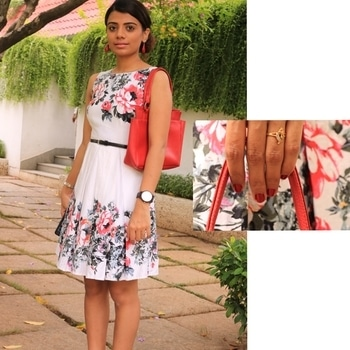 Fit and Flare on the Blog! ❤️😬 Have you checked out the post yet? . . . . #indianstyleblogger #stylefile #ootdfash #lfl #ootdwatch #IamAND #outfitdetails #casualstyle #l4l #fashion #dress #stylingtips #fashionblogger #fashionigers #outfittoday #ootdshare #styleinspo  #redbag #orangedress #fashionlook #streetstyle #aboutalook #realoutfitgram #sotd #indianfashionblogger #asseenonme #wiw #outfitideas #outoncatwalk