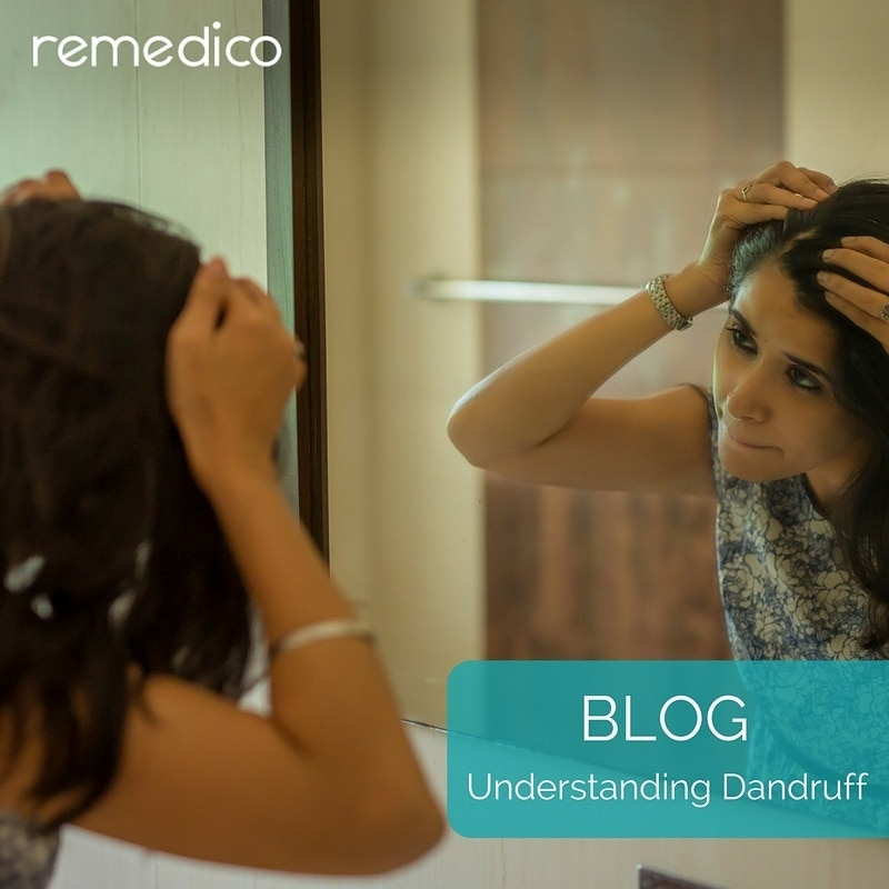 """How many times a day do you check for dandruff? Our latest blog post """"Understanding Dandruff"""" explains more about the condition and how you can control it. (link in bio)  #Remedico #dermatologist #blog #healthtips #skin #beauty #beautifulskin #darkcircles #beautifuleyes #dandruff #treatment #healthyskin #skingoals #beautyblogger #digitalclinic #skincareroutine #skincare #wellnessblog #dandrufftreatment  #hairgoals #glowingskin #blogpost #skinproblems #agedefying #anewyou #healthyskincare #clearskin #smoothskin #healthandbeauty #antiaging"""