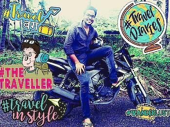 #wanderlust #biker #bikes #biking #travel-diaries #travelinstyle #travelling #travelinstyle #wanderlust #travelbug #traveldiaries #thetraveller