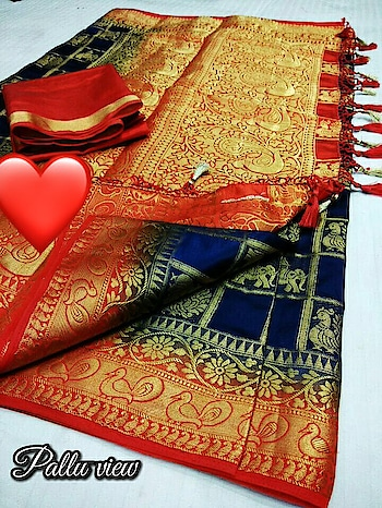 💐🎍🎉launching Orio silk Bridal wear collection  New hit in market - 048   Material - Orio silk wid full golden zari in Mayurika and Hathi wid thread motifs  Soft and shinning   Blouse- Contrast Blouse    Pallu- Rich pallu wid mayurika  😍Price - ₹1370+$ Colour available   Ready stock !! Multiples avl  Disclaimer:-  *Colours may slightly vary due to camera resolution*  Note : border spreads and Zari pulls not considered as damage No returns accepted coz of border smudge and Thread pull