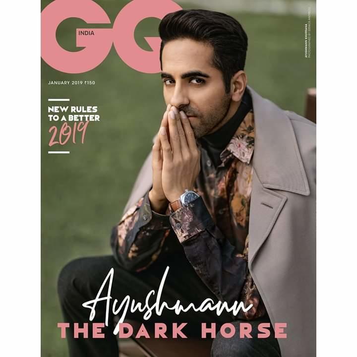 #GQcover GQ India #January2019 #NewYear Thank you Errikos Andreou #VijendraBhardwaj
