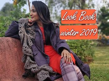New video uploaded #lookbook2019 #wintermakeup  click on link https://youtu.be/QV7MUZW6bQw