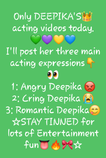 So who's Excited and which video you Want the first?🙊 comment down Below 👻👑🌸🦄🎀🔥#Wait #Videos #deepika-padukone #deepikapadukone #BestActress #Attention #Post #Himaniparashar #followlikecomment #lovemyfam #lovemyfans #SupportMe #staytuned #staytunnedformore