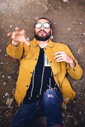 hi .#blogstyle #yellow #ajio #bloggers #fashion #menswear