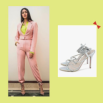 This weekend keep it formal yet fun like Mrunal Thakur in #INTOTOs for #batlahouse promotions  .  .  .   #globaltrends #fashionforall #trending #womenswear #designershoes #trendy #newcollection #whatshot #partywear #elegant #INTOTOxKOOVS #new #weekendwear #stilettos #shiny #party #funky #strappys #highheels #celebritylook #celebritypick