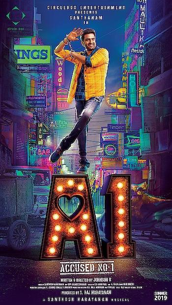 #a1 #sandhanam #movieposter #tamilmovie #latest